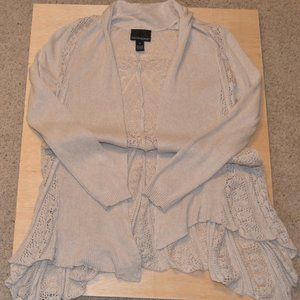 Cynthia Rowley Open Knit Duster